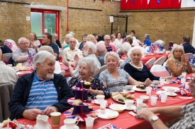 Senior Citizens Tea Party